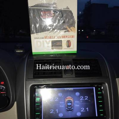 Cảm biến áp suất lốp tích hợp DVD cho xe altit