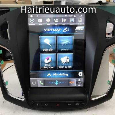 màn hình tesla android cho focus