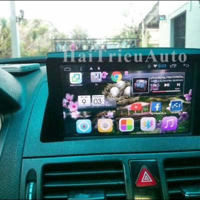 DVD ANDROID cho xe MAZDA BT50