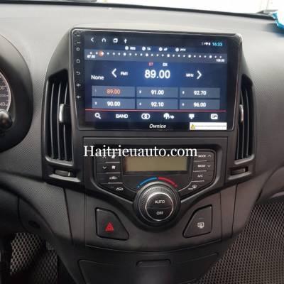 màn hình android theo xe hyundai i30