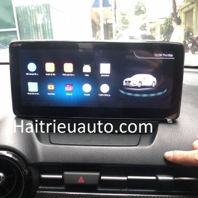 màn hình android theo xe mazda 2