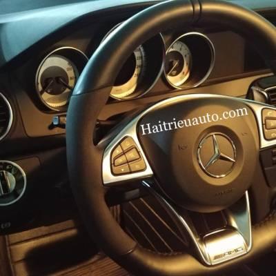 Nâng cấp vô lăng AMG cho Mercedes C200 2013