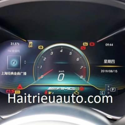 bản đồng hồ điện tử xe mercedes C