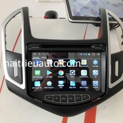 màn hình android theo xe cruze 2017