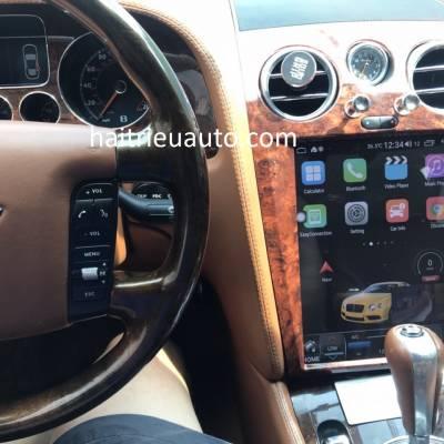 màn hình android tesla xe Cadillac