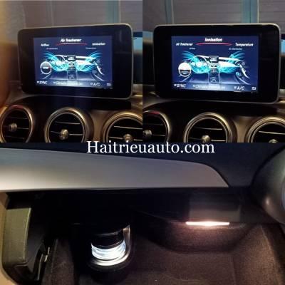 Hệ thống nước hoa Air freshener và Ionisation theo xe Mercedes C200