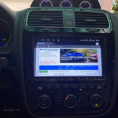 màn hình android xe Volkswagen Scirocco