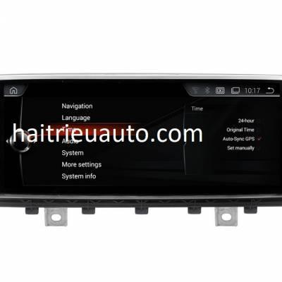 màn hình Android cho xe BMW X5 NBT 2015-2017