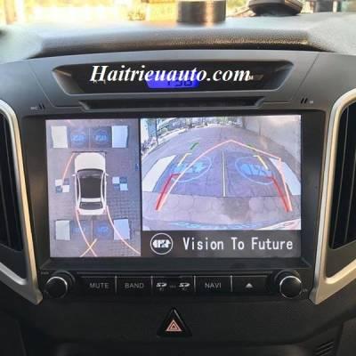 Lắp camera 360 độ cho xe Huyndai Creta