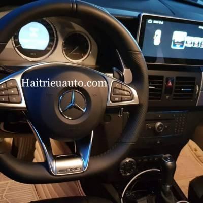 Nâng cấp vô lăng AMG cho Mercedes C200