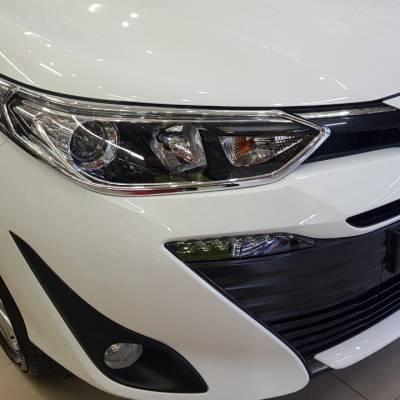 viền đèn trước cho xe toyota vios 2018