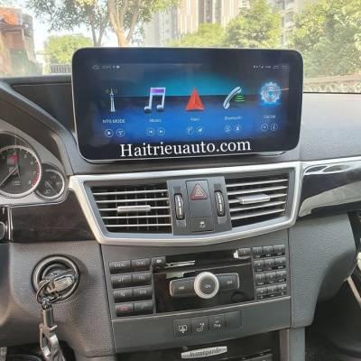 Màn hình android cho xe Mercedes E class