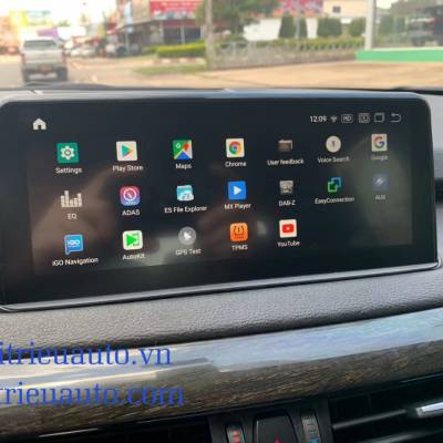 màn hình android theo xe MBW X5 2018