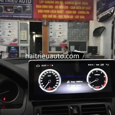 màn hình android xe mercedes C 200
