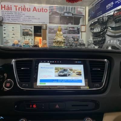 màn hình android zestech theo xe sedona