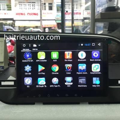 màn hình android Orion theo xe elantra 2018