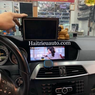Màn hình android theo xe Mercedes C Class