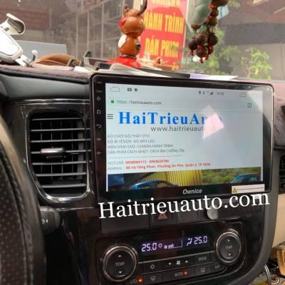 màn hình android cho xe outlander