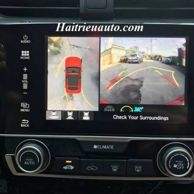 Lắp camera 360 độ cho xe Honda Civic