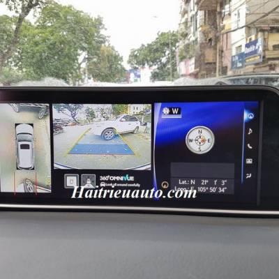 Lắp camera 360 cho xe Lexus RX350