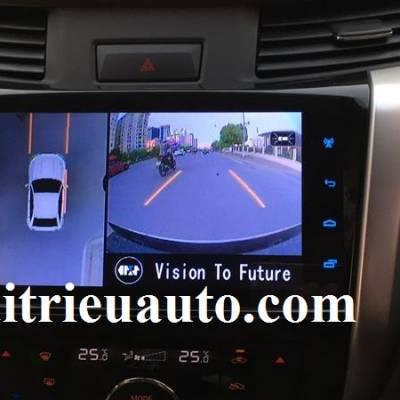 Camera 360 độ cho xe Nissan Navara