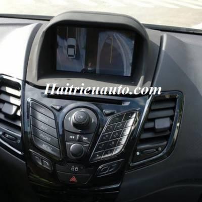 Lắp Camera 360 độ cho xe Ford Fiesta