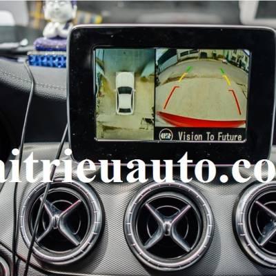 Camera 360 cho xe Mercedes CLA AMG