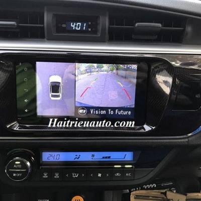 Lắp Camera 360 độ Oris cho xe Toyota Altis