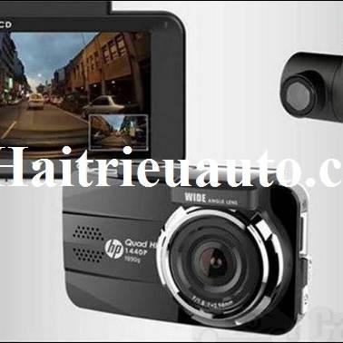 Camera hành trình HP F890G 2 mắt trước sau GPS Ghi hình 2K