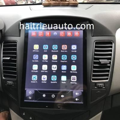 màn hình tesla orion cho xe cruze