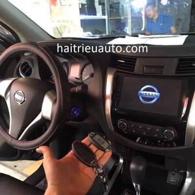 màn hình android theo xe nissan NAVARA 2018