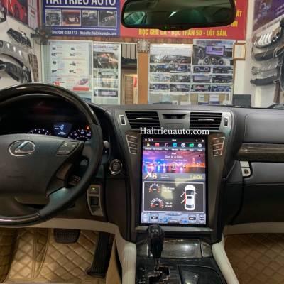Màn hình tesla android xe Lexus LS 600hL