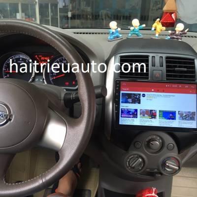 màn hình android theo xe Sunny