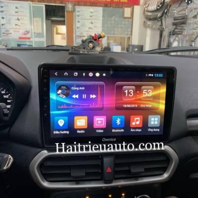 màn hình android Ownice theo xe ecosport 2018
