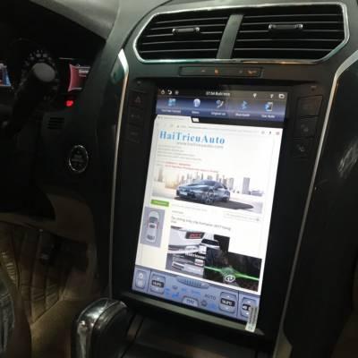 màn hình android tesla xe Ford Explorer