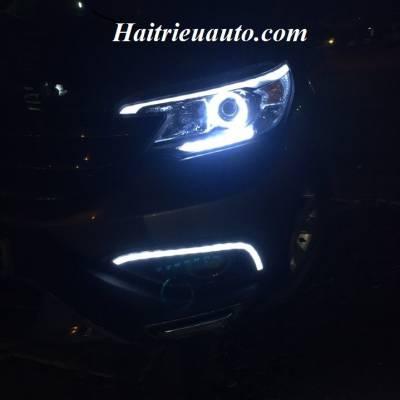 Độ đèn cho Honda CRV