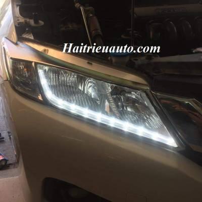 Độ đèn led pha cho Honda City 2 sắc màu