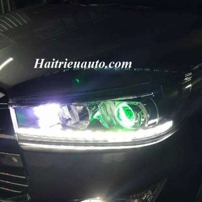 Độ đèn led cho xe Innova 2017