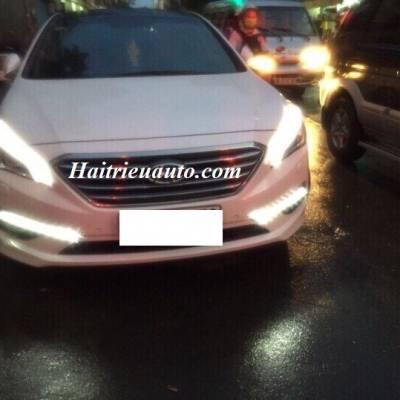 Độ đèn led cho xe Huyndai Sonata