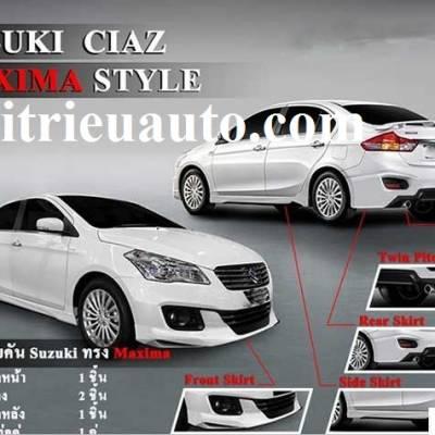 Độ body kit Suzuki Ciaz mẫu Maxima