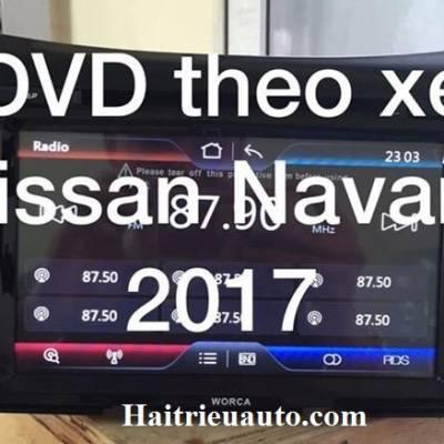 DVD THEO XE NISSAN NAVARA 2017