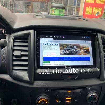 màn hình android theo xe ford ranger 2019