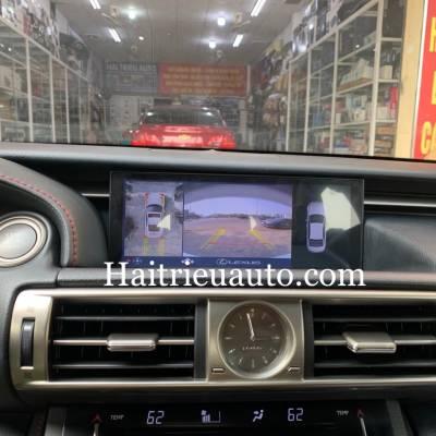 Camera 360 cho xe Lexus IS 250 2018
