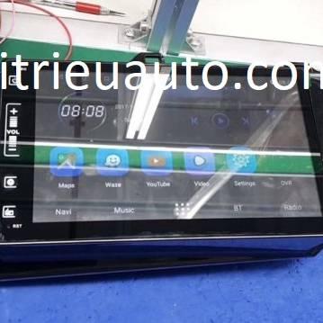 màn hình android theo xe Hilux 2018