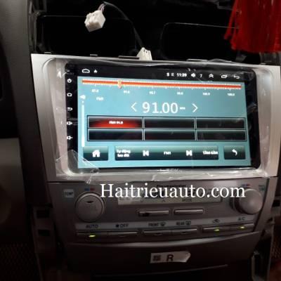 màn hình android xe camry 2010