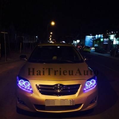 Đèn pha độ xe altis