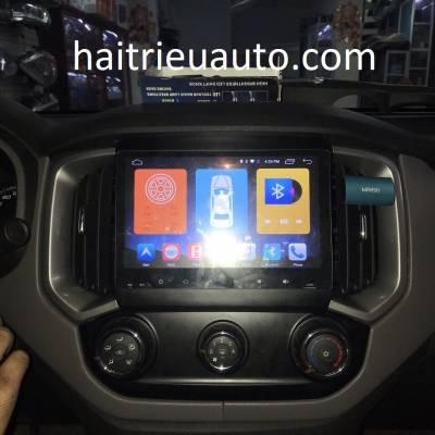 màn hình android theo xe colorado