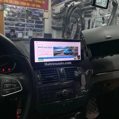 Màn hình android xe Mercedes C200