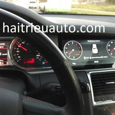 màn hình android theo xe audi Q7 2007-2015