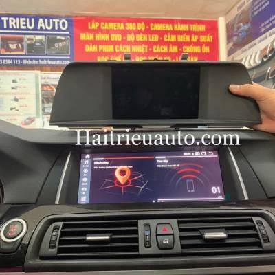 Màn hình android theo xe  BMW 520i